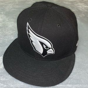Arizona Cardinals flat brim hat.